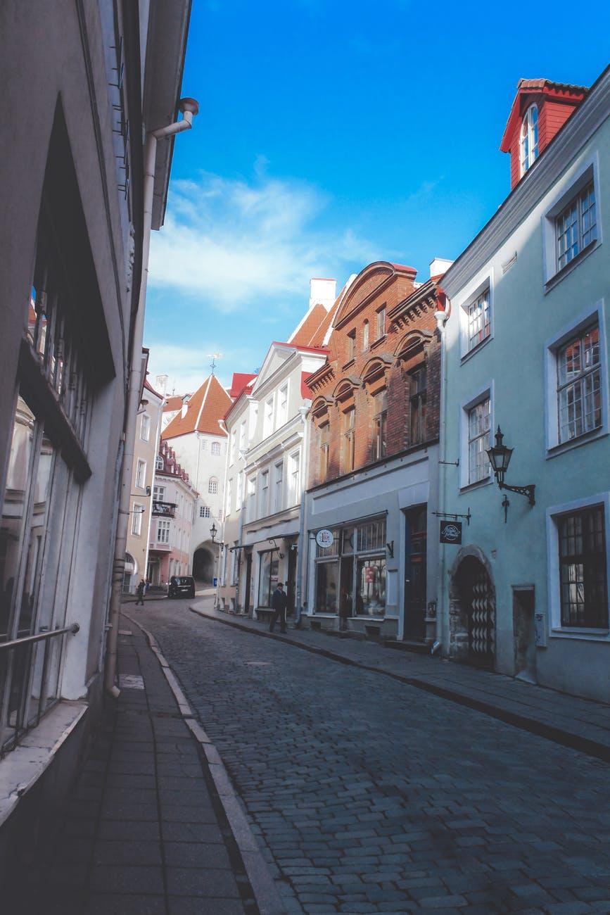 Estonsko - dlouhá ulic