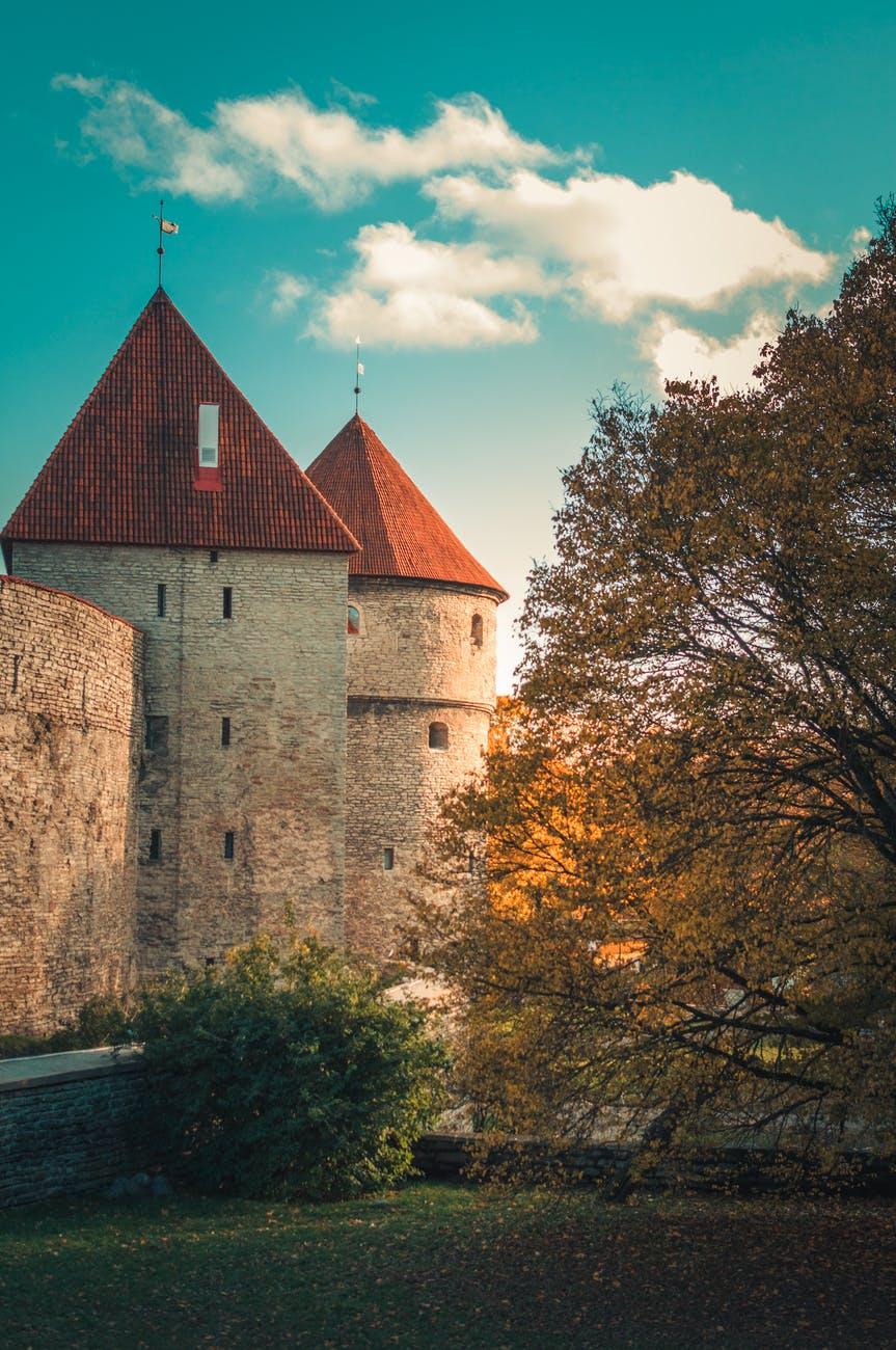 Estonsko-hradby