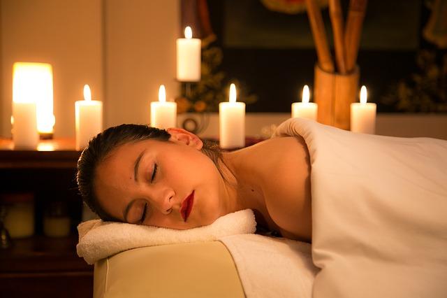 spánek po masáži