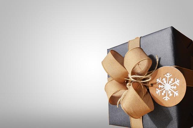dárek s vločkou
