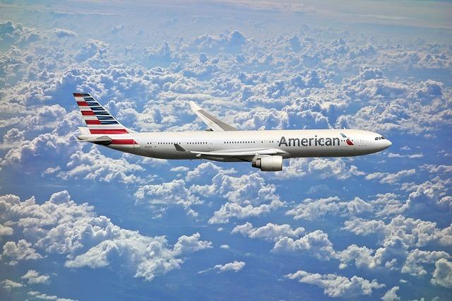 dopravní letadlo american