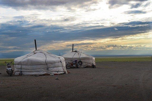 mongolsko jurty