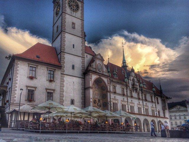 městská radnice v Olomouci