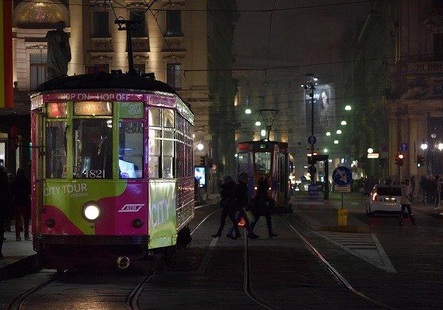 italské tramvaje