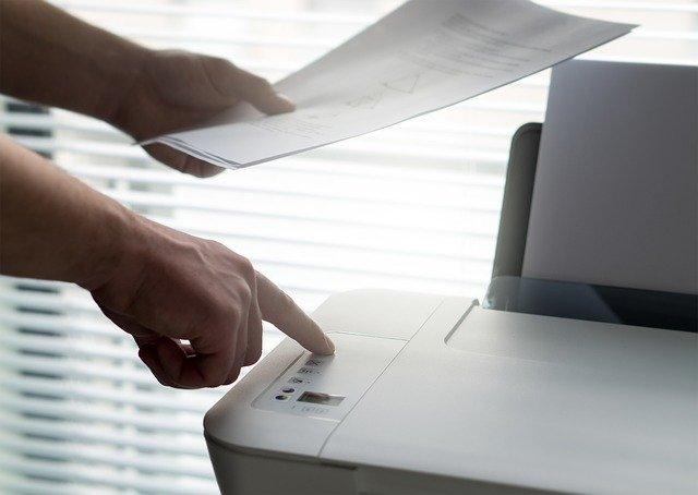 Ovládání kopírovacího stroje