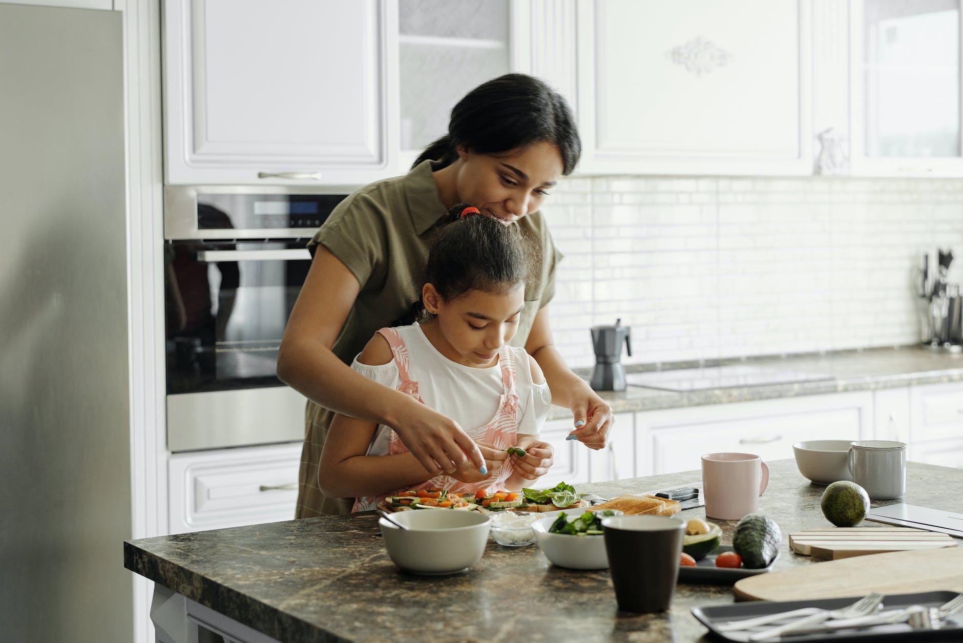 příprava lahodného jídla
