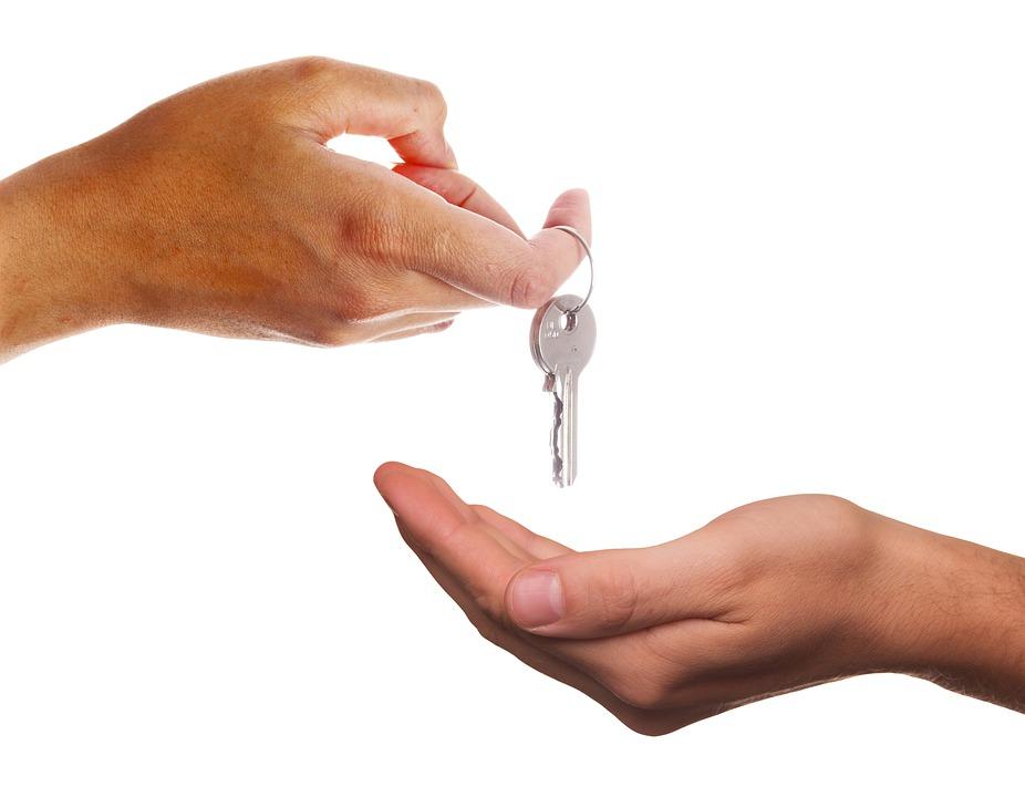 předávání klíčů