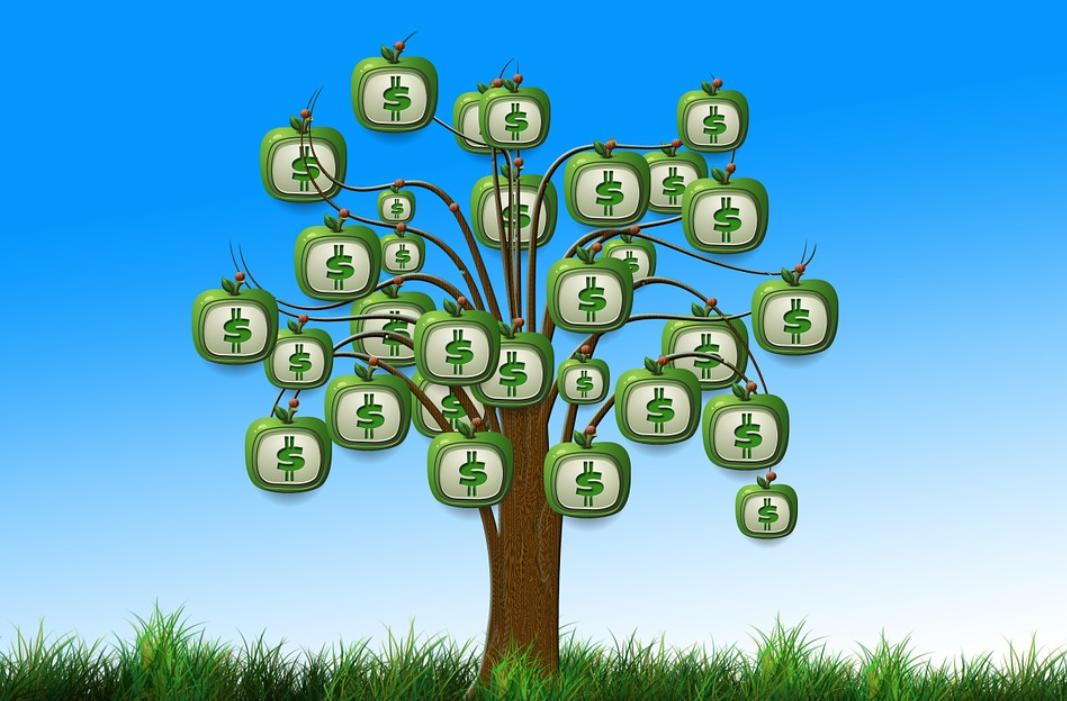 strom peněz